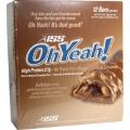 Oh Yeah Bar 12/85gr-Peanut Butter  Caramel