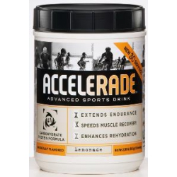 Accelerade 30 servings-Lemonade