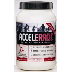 Accelerade 60 servings-Fruit Punch