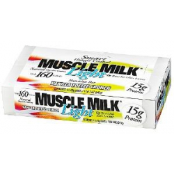 Muscle Milk Light Bar 12/45gr-Vanilla Toffee