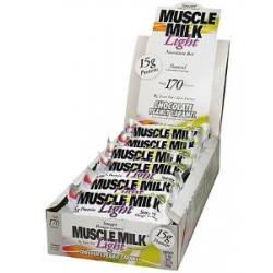 Muscle Milk Light Bar 12/45gr-Chocolate Peanut Caramel