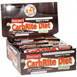 Carb Rite Bar 12/56gr-Chocolate Brownie