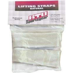 Lifting Straps Natural 1pair