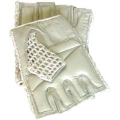 Mesh Gloves Tan S