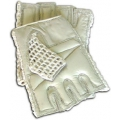 Mesh Gloves Tan L