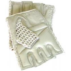 Mesh Gloves Tan XL