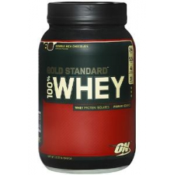 100% Gold Standard Whey 2lb-Double Rich Chocolate