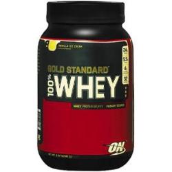100% Gold Standard Whey 2lb-Vanilla Ice Cream