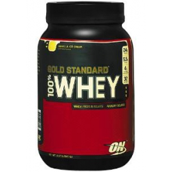 100% Gold Standard Whey 2lb-French Vanilla Creme