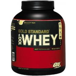 100% Gold Standard Whey 5lb-Vanilla Ice Cream