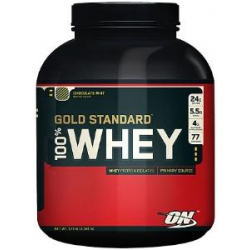 100% Whey Gold 5lb-Chocolate Mint
