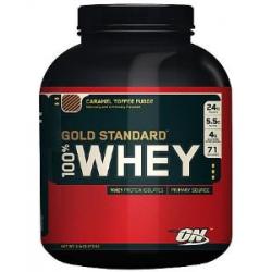 100% Whey Gold Std 5lb Crml Caramel Toffee