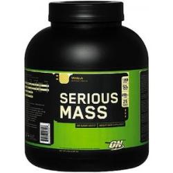 Serious Mass No Sugar 6lb-Vanilla