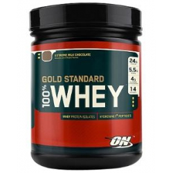 100% Whey Gold Standard 1lb-Double Rich Chocolate
