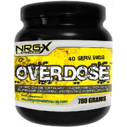Overdose 780gr-Blue Raspberry